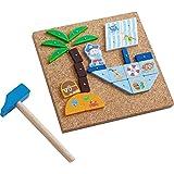 HABA 302964 钉子游戏 海盗船 , 幼儿玩具