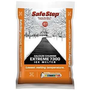 指南针 minerals 50850t EXTREME 7300冰 melter ,钙氯化物,22.7kilogram . BAG 1