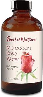 Moroccan 玫瑰水 - 4 盎司 - * * - 保湿面部爽肤水