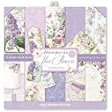 "Stamperia Double-Sided Paper Pad 12""X12"" 10/Pkg-Lilac, 10 Designs/1 Each"