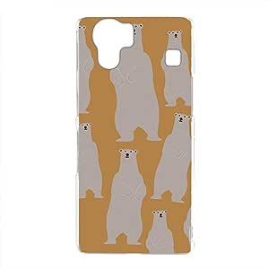 mitas 壳 硬质 打印 北极熊 熊 熊NPC-2133-D/102SH 4_AQUOS PHONE (102SH) D