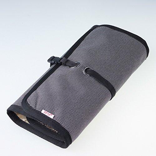 WANPOOLデータケーブル収納バッグデジタルアクセサリーパッケージ携帯充電器モバイルハードディスクUディスク充電宝物カードリーダー仕上げバッグアウトドア旅行デジタルパッケージ仕上げパッケージ電子商品収納袋多機能収納袋(グレー)