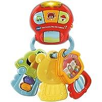 VTech 伟易达 – 钥匙挂钩,神奇婴儿玩具,80-505105,多色