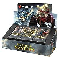 Magic The Gathering Double Masters 拉力助推器 (24 件装)和 2 个盒子配件