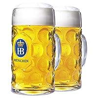 1 升 HB Munchen 玻璃杯 透明