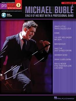 """Michael Buble (Songbook): Pro Vocal Men's Edition Volume 27 (English Edition)"",作者:[Buble, Michael]"