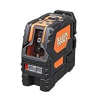 交叉线激光级带水泵点,自动调平,包括磁性安装夹 Klein 工具 93LCLS