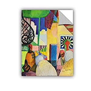 "ArtWall Franz Marc's in the Bazaar Art Appeelz Removable Wall Art Graphic, 24"" x 32"""
