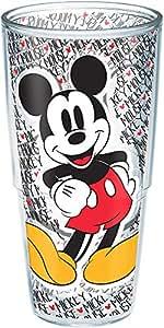 Tervis Disney 米老鼠姓名图案 24盎司杯 透明 24oz 1227949