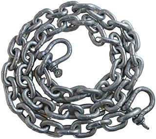 美国镀锌风玻璃 0.64 cm x 3.04 cm ISO G4 锚链 HDG 带镀锌钩环
