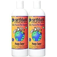 Earthbath 2合1 狗和猫天然香波 芒果慕斯香气16盎司/472毫升(2件装)