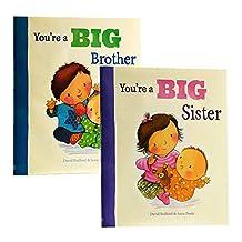 【中商原版】我当哥哥姐姐啦 英文原版 You're A Big Brother/Sister 你是大哥哥姐姐 情商绘本 二胎家庭 幼儿启蒙认知 儿童情绪管理性格培养 精装大开本 儿童故事图画书 温暖亲情 [平装] [Jan 01, 2013] David Bedford