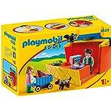 Playmobil摩比世界 9123 - Mein Marktstand zum Mitnehmen (不支持中文)