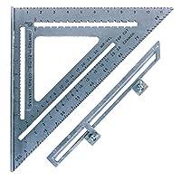 Swanson 工具 S0107?4.5英寸 SPEED 方形布局工具帶藍色書