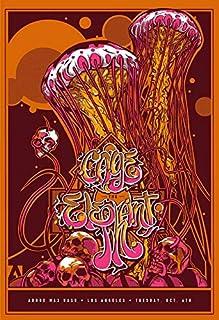 Get Motivation Cage The Elephant,英国伦敦肯塔基州保龄球绿的美国摇滚乐队,马特·什尔兹,布拉德·沙丘兹 30.48 x 45.72 cm 海报