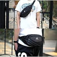 Adidas阿迪达斯18新款骑行胸包男包女包通用运动包休闲包斜挎腰包 AJ4230