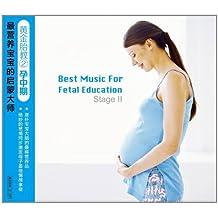 黄金胎教2•孕中期:最营养宝宝的启蒙大师(2CD)