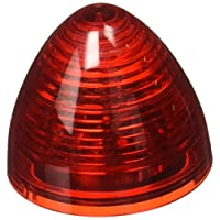 """RoadPro RP-1271R 红色 5.08 厘米""""蜂巢""""密封 LED 装饰灯 带插入式连接"""