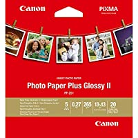 "Canon 佳能 高级光面照片纸 PP-201 5""X5"" (20张/包)"