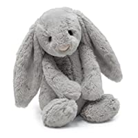 Jellycat 害羞的灰兔子,大号,15英寸