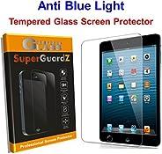 适用于 iPad 9.7(2017 版本)- SuperGuardZ 钢化玻璃防蓝光【眼部保护】屏幕保护膜,9H,防碎边缘,防碎裂