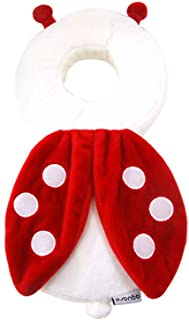 Aguard IKOONG 婴儿头保护保护保护婴儿头部*软垫防止婴儿受伤,适合6个月以上的宝宝 瓢虫 14x30x4 cm