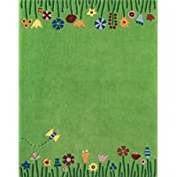 HABA 儿童地毯草地 / 优质标签: pollution-free / 堆材质:新西兰羊毛 / 堆高: / 图案:花卉 / 编织: / 生活空间:儿童房