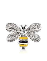 Royal.SaSa 蜜蜂胸针女配饰日韩可爱学生欧美卡通创意胸花项链两用