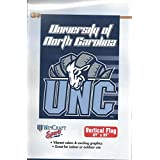 北卡罗来纳大学 Tar Heels UNC 蓝白队户外/后挡板旗/横幅 68.58 厘米 x 104.14 厘米