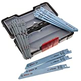 Bosch 2607010901 Saber 锯刀片套装 适用于木质/金属,0 V,白色,15 件套