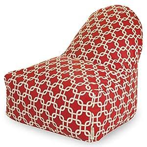 Links Indoor/Outdoor Kick-It Bean Bag Chair 红色