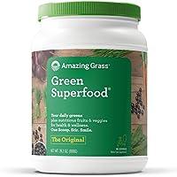 Amazing Grass 小麦草和蔬菜粉,口味:原味,100份