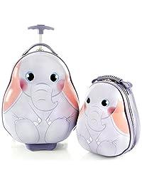 Heys America 旅行手提包 2 件套行李箱 - 18 英寸便携包和 13 英寸背包