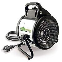 Bio Green 电动加热吹风机 Palma 手动款 银色 / 黑色 2000 W