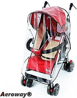 Aeroway® 通用透明防水防雨罩防风罩适合大多数婴儿推车推椅