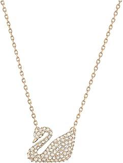 施华洛世奇水晶镶嵌天鹅项链