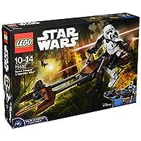【12月新品】 LEGO 乐高 Star Wars 星球大战系列 侦查骑兵和极速机车 75532 10-14岁 积木玩具
