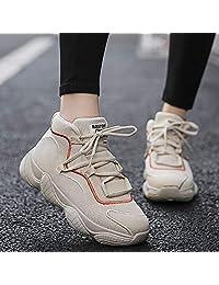 Wilindun(美国) 跨境专供 新款椰子高帮老爹鞋秋冬运动休闲男女鞋