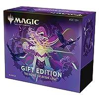 Magic: The Gathering 万智牌 艾卓王权 捆绑礼物版| 集换艺术| 10个补充包| 1个聚珍补充包| 配件