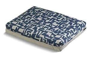 Crypton *面料现代沙发蓝色,大号