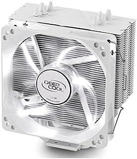 DEEPCOOL CPU Cooler 4heatpipes 120mm PWM 风扇带蓝色 LED 通用插座 MS gammaxx 400