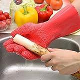 Moonyland 神奇去皮 厨房蔬菜去皮 手套搓土豆皮刮鱼鳞手套 家务手套 防滑 果蔬去皮手套 (右手1只)