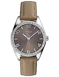 s.OLIVER  石英女士手表 SO-2547-LQ(亚马逊进口直采,德国品牌)