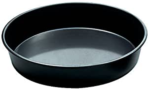 Paderno World Cuisine 23 5/8 Inch by 1 1/4 Inch Blue Steel Cake Pan