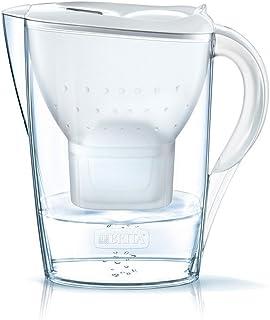 BRITA 碧然德 Marella滤水壶,与BRITA MAXTRA +滤芯兼容,白色的滤水壶有助于减少石灰和氯气