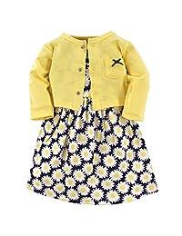 Hudson Baby 连衣裙和开衫套装