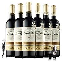 【优红酒酒庄直采】西班牙奥瑞安骑士金标干红葡萄酒整箱6支 直采原瓶进口红酒优惠装750ml*6(西班牙法定产区DO级 与法国波尔多AOC级相当)