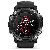 GARMIN佳明fenix5X Plus血氧溶度测量 GPS三星定位光电心率多功能支付音乐户外跑步运动手表