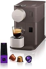 DeLonghi 全自动胶囊咖啡机 美式意式一键花式家用咖啡机 EN500.W 棕色