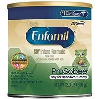 Enfamil ProSobee Soy-婴儿*奶粉,12.9 盎司(4 瓶装)